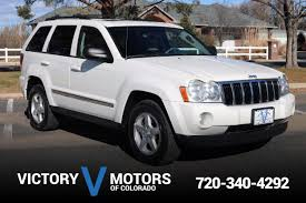 silver jeep grand cherokee 2007 used cars and trucks longmont co 80501 victory motors of colorado