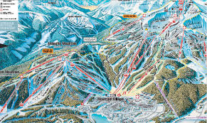 Hamilton Montana Map by Skiing Big Sky Montana 2005