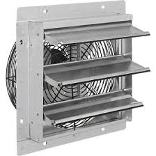 shutter exhaust fan 24 exhaust ventilation fan with shutter 12 quot 3 speed with hardware