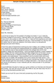 college application cover letter sample