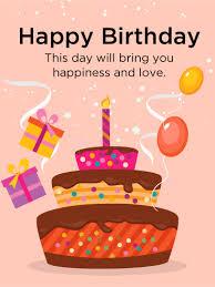 colorful birthday cake card birthday greeting cards by davia