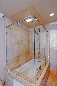 Corner Bathroom Showers Frameless Showers Cb Showers In San Carlos