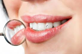 diamond stud in tooth teeth jewellery the trend times of india