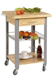 CORNER HOUSEWARES Rolling Storage And Organization Kitchen Cart - Kitchen cart table