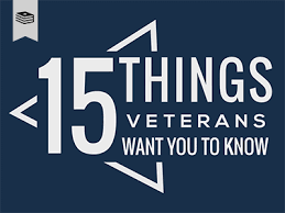 15 things veterans want you to psycharmor institute