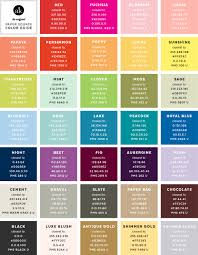 the unofficial paper source color guide updated u2014 akula kreative
