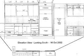 Lovely Kitchen Elevation Dimensions Cabinet Standard Design Photos - Kitchen cabinet height