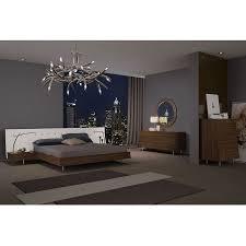 Walnut Bedroom Furniture Modern Nightstands Cordoba Walnut Nightstand Eurway