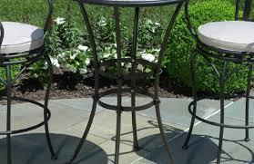 patio u0026 pergola stunning black metal patio furniture with chiars