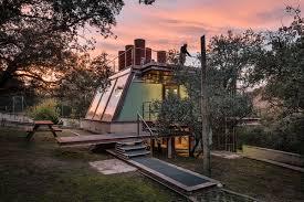 glass pavilion steel and glass pavilion offers meditative refuge outside madrid