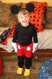 Mickey Mouse Toddler Costume A Mickey Mouse Costume For Toddlers Diwali Crafts Recipes