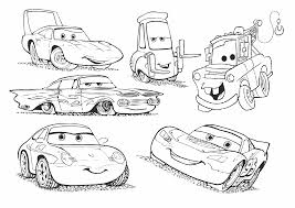 lightning mcqueen coloring pages 7 u2013 coloringpagehub