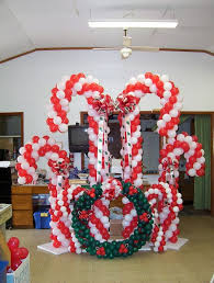 120 best christmas balloon decor images on pinterest christmas