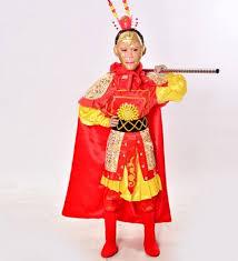 Halloween Costume Monkey Aliexpress Buy Sun Wu Kong Costumes Children Sun Wukong