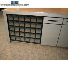 rolled plan drawing cubbyhole counter storage cabinet blueprints