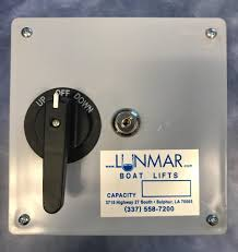 keyed light switches for schools lunmar keyed control boat lift switch lunmar boat lifts