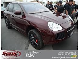 Porsche Cayenne Red Interior - 2006 carmon red metallic porsche cayenne turbo s 66080178