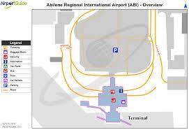 Dfw Terminal Map Abilene Abilene Regional Abi Airport Terminal Maps