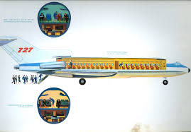 boeing 727 launch brochure 1962 one of my very first flights was