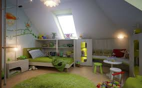 Cool Attic Bedroom Cool Attic Bedroom Ideas With Brown Wood Floor And Small