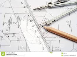 home design engineer engineering design and drawing tools stock photos image 25371763