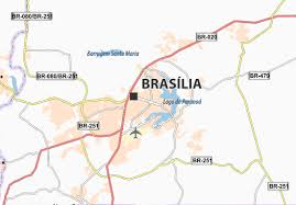 map of brasilia map of brasília michelin brasília map viamichelin