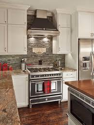 Stone Backsplash In Kitchen Awesome Kitchen Cabinets With Natural - Backsplash stone