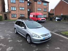 peugeot 307 sw 7 seater in nuneaton warwickshire gumtree