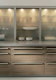 Modern Lighted Kitchen Cabinets - Glass shelves for kitchen cabinets