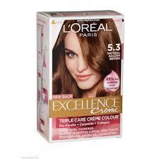 light golden brown hair color loreal paris excellence 5 3 light golden brown hair color توصيل