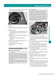oil level mercedes benz e class wagon 2016 w213 owner u0027s manual