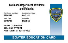 louisiana boating license boat safety course boat ed