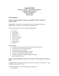 Sample Resume Doc by Angela Fuller Slp Resume Doc 3