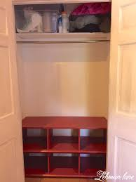 Bench With Shoe Cubby Closet Cubby Plans Roselawnlutheran