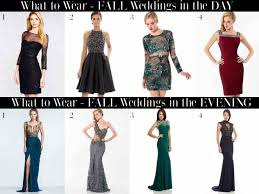 what to wear to a wedding in october dress semi formal wedding attire october for a november guest