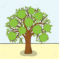 clip art family tree outline free clipart images clipartix