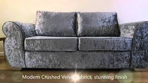 Grey Silver Sofa Chloe Glitz Silver Sofa Youtube