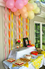 Home Made Party Decorations Birthday Decorations Home Happy Birthday Decorations At Home With
