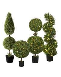 artificial potted trees topiaries balsam hill