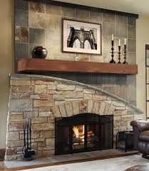living room concrete stone surround stainless glass gas