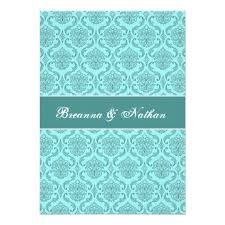 Wedding Template Invitation Wedding Invitation Template Aqua Blue Yaseen For