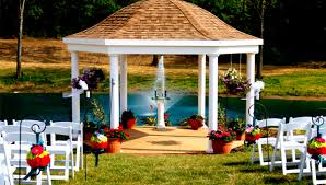 gazebo cedar springs pavilion outdoor wedding venue located