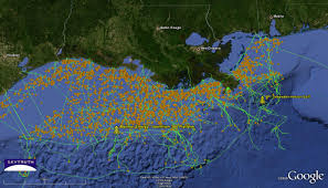 Gulf Of Mexico Block Map by Oil Rig Gulf Of Mexico Map You Can See A Map Of Many Places On