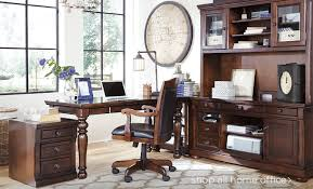 Wooden Home Office Furniture by Home Office Furniture Ashley Furniture Homestore
