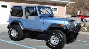 teal jeep for sale 1989 jeep wrangler for sale near cadillac michigan 49601