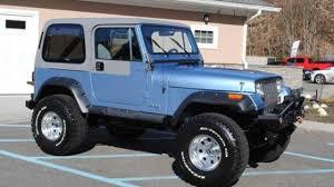 teal jeep 1989 jeep wrangler for sale near cadillac michigan 49601
