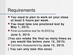 5 hours class online math online orientation tri 3 2015