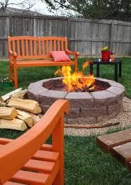 Backyard Fire Pits Ideas by Best 25 Fire Pit Chairs Ideas On Pinterest Backyard Fire Pits