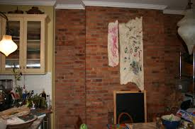 re pointing an interior brick wall lee