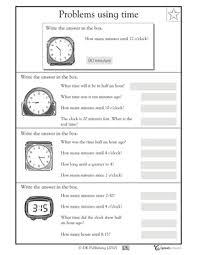 telling time word problems worksheets worksheets